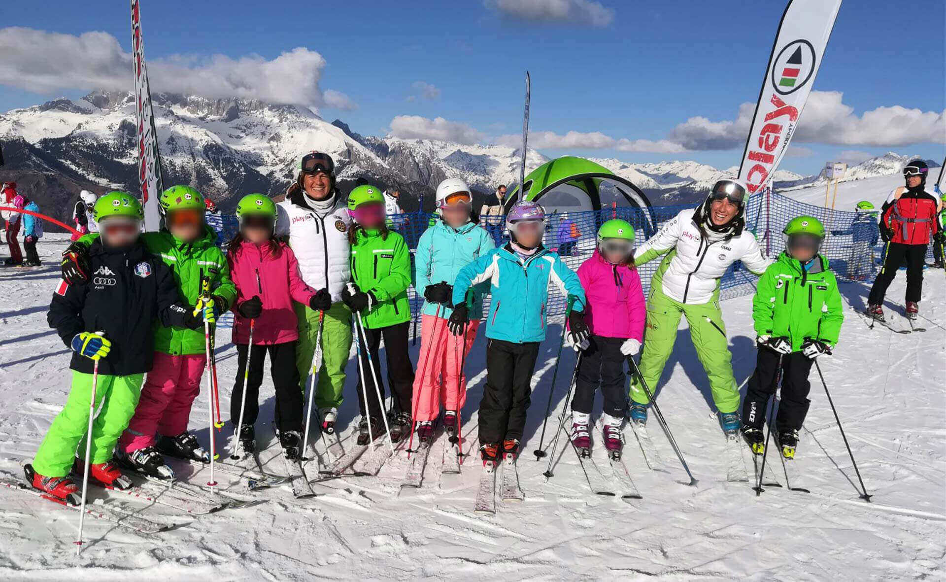 Corsi sci di gruppo per bambini